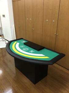 オリジナルカジノテーブル